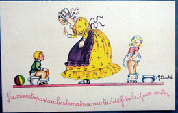 SCATALOGIE POTS DE CHAMBRE CARTE HUMORISTIQUE DE J DUCHE - Cartes Postales