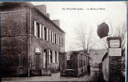 10 VILLADIN LA  MAIRIE ET L'ECOLE CABINE TELEPHONIQUE - France