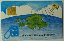 NETHERLANDS - St Maarten - Gemplus Chip - Island & Satelite - SMTC - 2A - Printed Logo - 120 Units - Used - Antilles (Netherlands)
