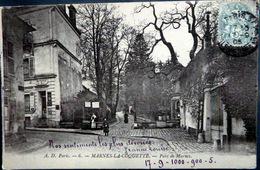 92 MARNES LA COQUETTE PARC DE MARNE  BAR BUVETTE DU BOIS - France