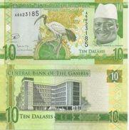 Gambia  New  10 Dalasis 2015  UNC - Gambia
