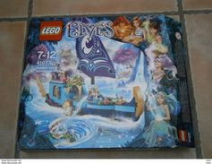 BOITE DE LEGO ELVES 41073 Le Bateau Magique Naida Et Aira MANQUE COFFRET PERLE ET AXE PALME - Lego System