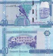 Gambia  New  20 Dalasis 2015  UNC - Gambia