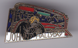 52650-Pin's.Johnny Hallyday - Celebrities