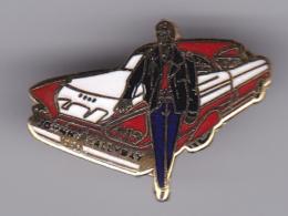 52652-Pin's.Johnny Hallyday - Celebrities