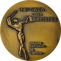 France, Medal, 36 ème Gala Des Artistes, Théatre National De L'Opéra, 1966 - France