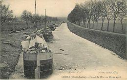 70: Corre : Canal De L'est Hiver 1928 - Autres Communes