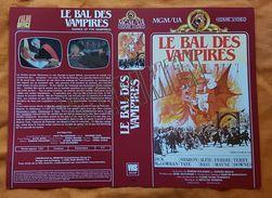 JAQUETTE - VHS SECAM - LE BAL DES VAMPIRES - ROMAN POLANSKI - MGM - 1986 - Merchandising