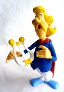 FIGURINE ASTERIX Prime QUICK ASTERIX 2014  ASSURANCETOURIX Avec Sa Harpe Amovible - Asterix & Obelix