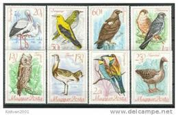 Hungary MNH Set - Birds