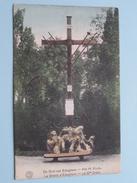 De Grot Van Edeghem - Het H. Kruis ( La Grotte - Ste Croix - D'Edeghem ) Anno 1920 ( Zie Foto's - G. Hermans ) ! - Edegem