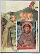Umm Al Qiwain 1972 Dante Divina Commedia Paradiso XI Miniatura Cimabue San Francesco Assisi - Cristianesimo