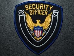 ECUSSON SECURITE  US  OFFICER - Scudetti In Tela