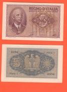 5 Lire 1944 Regno D'Italia - [ 1] …-1946 : Kingdom