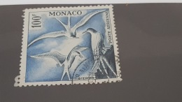 LOT 380723 TIMBRE DE MONACO OBLITERE N°55 VALEUR 14 EUROS - Poste Aérienne