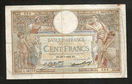 "FRANCE - BANQUE De FRANCE - 100 FRANCS ""LUC OLIVIER MERSON"" (BY. 28 - 7 - 1932) - 1871-1952 Antichi Franchi Circolanti Nel XX Secolo"
