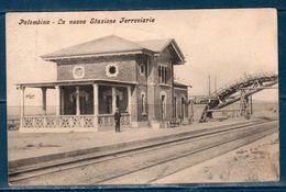 1911 Palombina (Ancona) La Nuova Stazione Ferroviara -- Viaggiata -- - Ancona