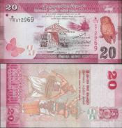 Sri Lanka 2010 - 20 Rupees - Pick 123 UNC - Sri Lanka