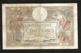 "FRANCE - BANQUE De FRANCE - 100 FRANCS ""LUC OLIVIER MERSON"" (CX. 29 - 9 - 1935) - 1871-1952 Antichi Franchi Circolanti Nel XX Secolo"