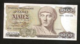GREECE - 1000 DRACHMAI (1987) - APOLLO OLYMPIO - Greece