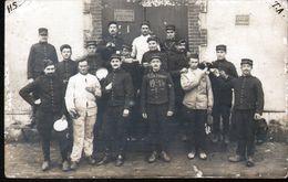 45, ORLEANS, GUERRE 1914-18, CARTE PHOTO D'UN MILITAIRE ENVOYEE A UN COPAIN - Orleans