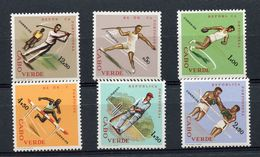 CAPE VERDE  - SUMMER  SPORTS   SP17 - Timbres