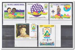 Chili 1998, Postfris MNH, Scouting Jamboree - Chili