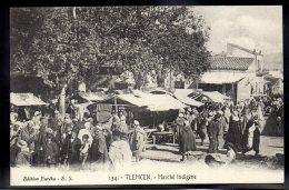 ALGERIE - TLEMCEN - Marché Indigène - Tlemcen