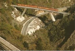 06  Le CHEMIN DE FER DE TENDE  Le Pont De Scarassoui  A Utorail En Direction De NICE - France