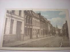 Wambrechies, La Rue Du Pont-levis, 1950, Timbre (B4) - Otros Municipios