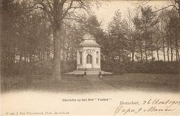 """Brasschaet / Brasschaat : Gloriette Op Het Hof """" Voshol """" - Brasschaat"""