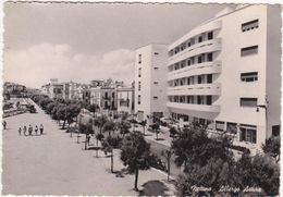 316  NETTUNO ROMA ALBERGO ASTURA ANIMATA 1950 CIRCA - Altre Città