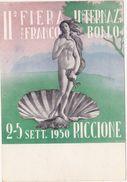 320 - II FIERA INTERNAZIONALE DEL FRANCOBOLLO RICCIONE 1950 - Borse E Saloni Del Collezionismo