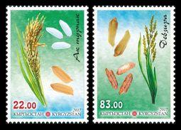 Kyrgyzstan 2017 Mih. 914/15 Flora. Types Of Rice MNH ** - Kyrgyzstan