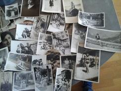LOT DE 51 PHOTOGRAPHIES DE PIN UP ET FEMMES ANNEES 40 A 70 - Pin-up
