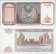 Uzbekistan 1994 - 50 Sum - Pick 78 UNC - Uzbekistan