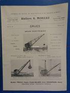 Ateliers A. Moreau : Grues - 1925 - Altri