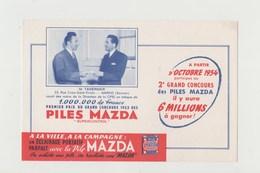 BUVARD PILES MAZDA - Accumulators