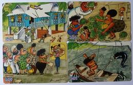MALAYSIA - GPT - $5 - Cartoons - Set Of 4 - Specimens - Malaysia