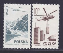 POLOGNE AERIENS N°   55 & 56 ** MNH Neufs Sans Charnière, TB  (D3615) Avion, Planeur, Hélicoptère - Ungebraucht