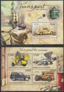 BURUNDI 2012 - Transport Du Courrier, Véhicules Postaux - Feuillet 4 Val + BF Neufs // Mnh // CV 36.00 Euros - Burundi