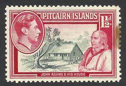 Pitcairn Islands, 1 1/2 P. 1940, Sc # 3, Mi # 3, MH - Timbres