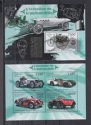 BURUNDI 2012 - Voitures Sport Mercedes 1886 à 1954 - Feuillet 4 Val + BF Neufs // Mnh // CV 36.00 Euros - Burundi