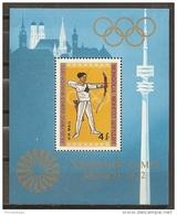 JUEGOS OLÍMPICOS - MONGOLIA 1972 - Yvert #H29 - MNH ** - Summer 1972: Munich