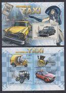 BURUNDI 2012 - Voitures, Histoire Du Taxi - Feuillet 4 Val + BF Neufs // Mnh // CV 36.00 Euros - Burundi