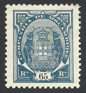 Mozambique Company, 65 R. 1902, Sc # 22, Mi # 44, MH. - Mozambique