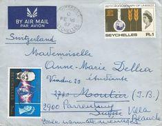 Seychelles 1967 Victoria UNESCO Winston Churchill Cover - Seychellen (1976-...)