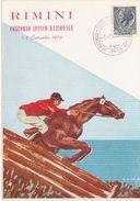333 - RIMINI CONCORSO IPPICO NAZIONALE 1956 - Borse E Saloni Del Collezionismo
