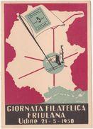 334 - GIORNATA FILATELICA FRIULANA 1950 - Borse E Saloni Del Collezionismo