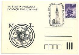 8538 Hungary SPM Religion Personality Architecture Church Theologian RARE - Teologi